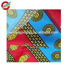 La cera africana del algodón de alta calidad imprime la tela hace para ordenar