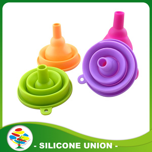 Food Grade Silicone Funnel For Kitchen Tools