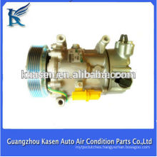 12v air conditioning compressor sanden sd6v12 for PEUGEOT C2 Octavia Magotan Superb Caddy Touran1351