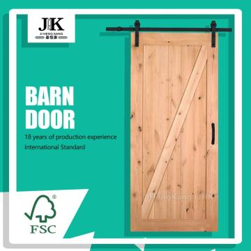 JHK-SK07 Modern Sliding Barn Doors Wooden House