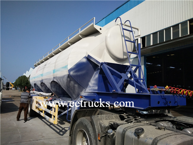 Tri-axle Bulk Cement Trailers