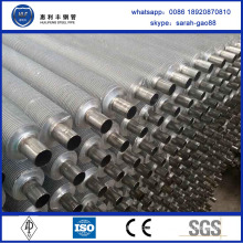 High Frequency tube and fin aluminum intercooler