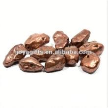High Polished Gemstone unpolished river pebble stones