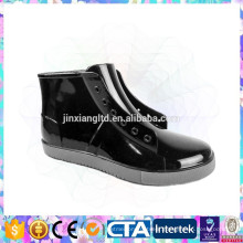 new style lace up rain shoes