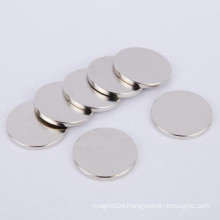 N35 Flat Round Rare Earth Magnets