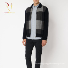 Cashmere Knitted Cardigan Coat Men Jacket style Cardigan