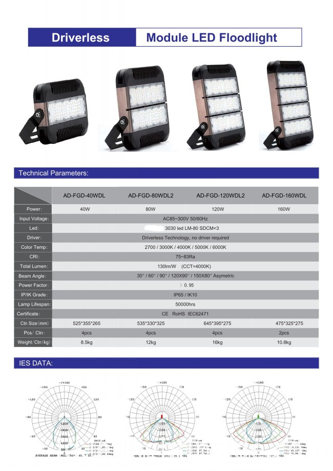 LED Flood Lamp Fixture