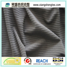 100% Polyester Compesite Stripe Mesh Fabric