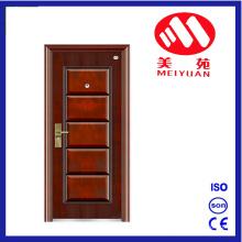 Top Design Sales Economic 5 Panel Steel Door Design