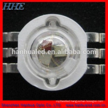 high quality 1w/3w 6 pins RGB multicolor high power led lighting souce