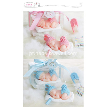 Baby sleep birthday gift set velas