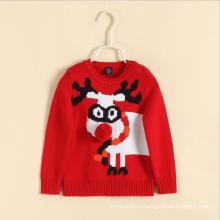горячие продажи зима свитер Рождество одежда swearter для девочки