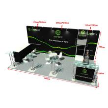 Einfach auf und falten Pop-up-Banner, pop-up ein Rahmen Banner Spannung Stoff Show-Display