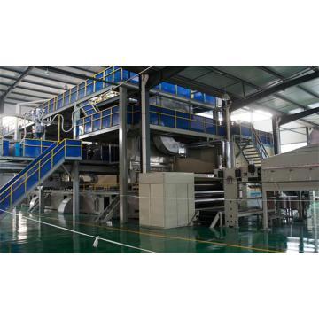 Máquina para fabricação de tecido não tecido 1600/2400/3200 / 4200MM duplo feixe spunbond