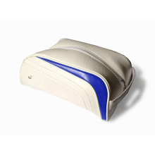 Bolso de zapatos de golf de cuero PU personalizado
