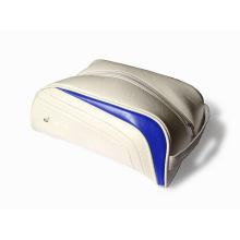 Saco de sapatos de golfe de couro PU personalizado