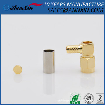 popular RF connector SMA Right Angle Male connector for SF-316 cable