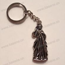 Новый дизайн религиозных изделий Charm Metal Keychain