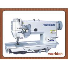 WD-845 высокой скорости двойной игловодителя Сплит Игла швейная машина