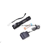 Полицейский светодиодный фонарик с литий-ионной батареей