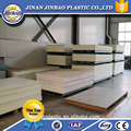 Jinbao pvc decorative sheet 1.5 density flat board 1220x2440mm rigid