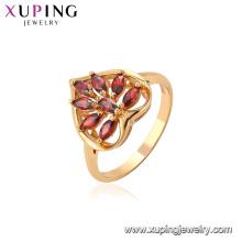 11433 xuping anillo de oro joyas joyería moda mujer anillos