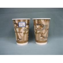Taza de papel de 12 onzas (taza caliente) Taza de papel caliente Papel de café tazas de beber desechables