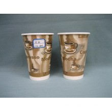 12oz Бумажный стаканчик (горячая чашка) Бумага для горячего кофе Бумага для питья Одноразовые стаканы