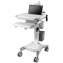 Hospital computer check trolley
