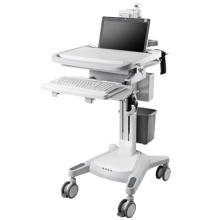 Carro de control de computadora del hospital