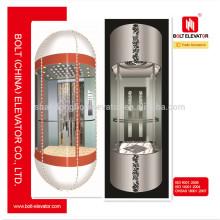 2015 Chine Vente chaude Panorama ascenseur élévateur