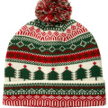 16FZCB08 knit beanie christmas hat