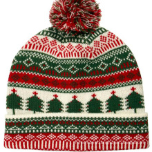 16FZCB08 knit beanie christmas hat