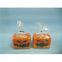 Artisanat en céramique en forme de bougie de Halloween (LOE2367-6.5z)