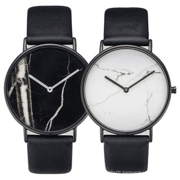 Special Designing Stainless Steel Fashion Watch with Marble Dial Bg432