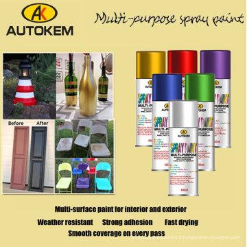 Peinture à pulvérisation polyvalente, peinture à l'épreuve des couleurs, peinture aérosol Spray