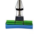 Fregona de doble rodillo del doblez del apretón de la esponja de PVA del hogar de los nuevos productos respetuosos del medio ambiente