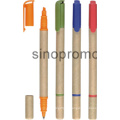 Custom Wholesale Sale Promotional Highlighter Fashion Ball Pen