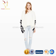 Winter Warm Knit Women Poncho Wholesale Cashmere Poncho