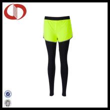 Pantalones de correr de compresión de las mujeres apretadas atractivas por encargo