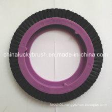 Black Bristle Textile Brush for Bruckner Small Stenter (YY-253)