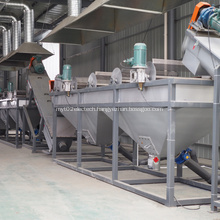 Plastic PE bottle washing recyling drying machine