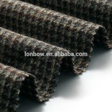 Men's houndstooth tweed blazer fabric wool for sale