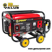Genour Poder Zh2500 168f 2kw / kVA Gerador de Alta Qualidade Recoil Starter