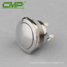 40mm Raised Push Button DPDT 2NO2NC On Off Push Button Switch
