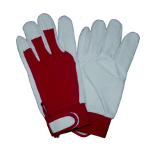 Pig Leather Driver Glove, CE Work Glove