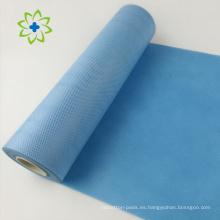 Rollo no tejido de la materia prima de la tela de las cubiertas quirúrgicas disponibles