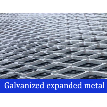 Galvanized Expanded Metal Panels/Grating/Expanded Metal