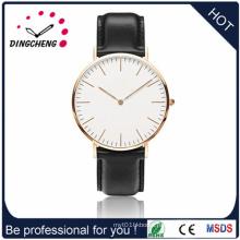 2015 Custom Leather Strap Quartz Watch (DC-1432)