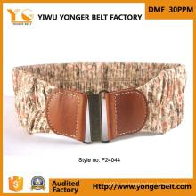 Popular venta caliente Wide Fashion Belts mujeres